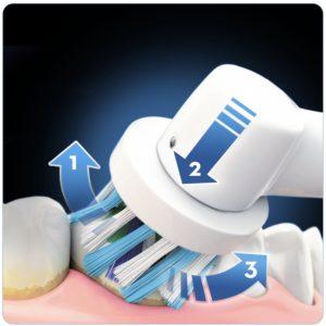 Elektrischen Zahnbürste Oral b pro 6000